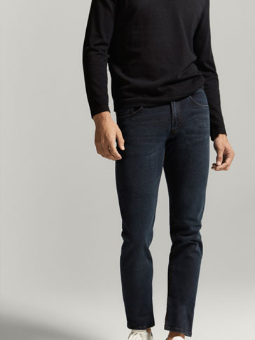 INDIGO CASUAL FIT JEANS
