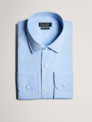 PERSONAL TAILORING PLAIN LIGHT BLUE SHIRT