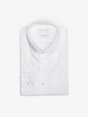 MICRO-CHECKED SLIM FIT SHIRT