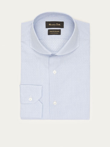 STRIPED SLIM FIT FIL COUPÉ SHIRT
