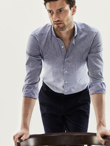 CAMISA ESTRUCTURA PIQUET SLIM FIT