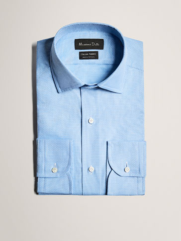 LIMITED EDITION SLIM FIT EMBELLISHED COTTON SHIRT