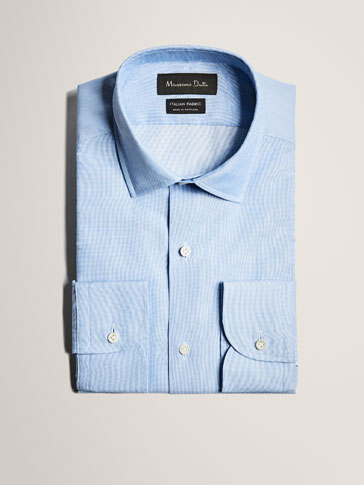 LIMITED EDITION SLIM FIT CHECKED COTTON SHIRT