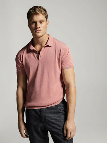 JERSEY POLO HIGH TWISTED