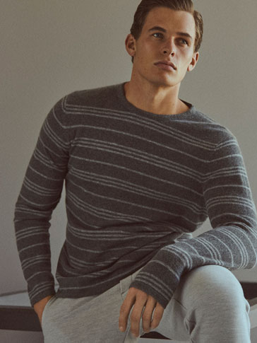 JERSEY CREW NECK STRIPES SOFT