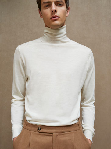 JERSEY TURTLE NECK EXTRAFINE MERINO'S CATWALK EDITION