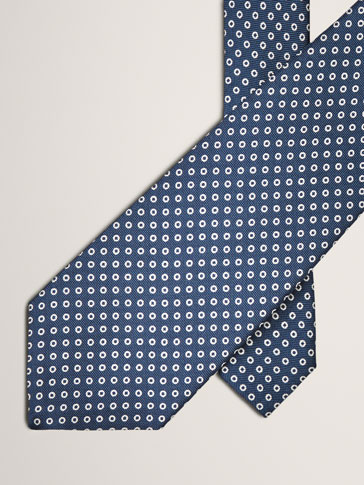 CRAVATTA STAMPA A POIS PERSONAL TAILORING