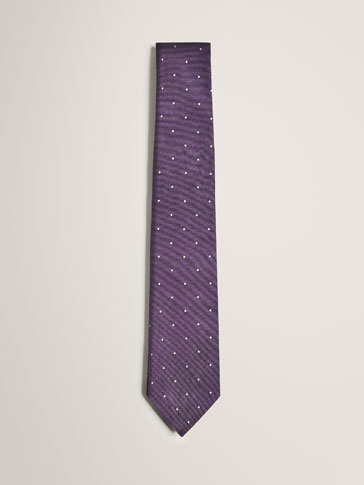 LIMITED EDITION SILK POLKA DOT TIE