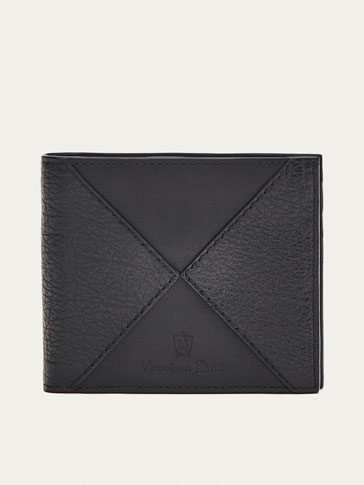 NAPPA LEATHER WALLET WITH CONTRASTING DETAIL
