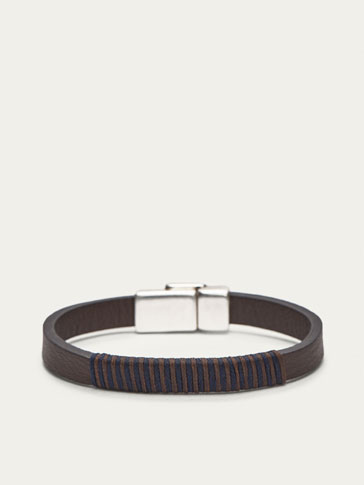 PULSERA DARK BROWN+CORD