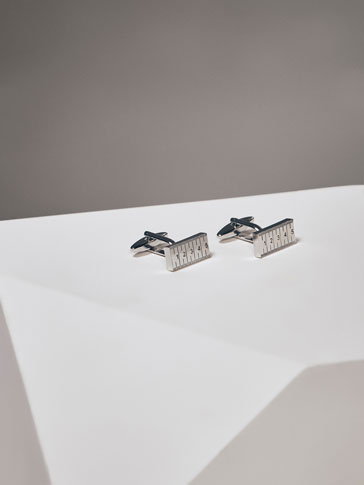 LIMITED EDITION MEASURING TAPE CUFFLINKS