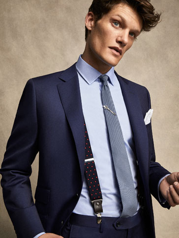 PERSONAL TAILORING ELECTRIC BLUE BLAZER