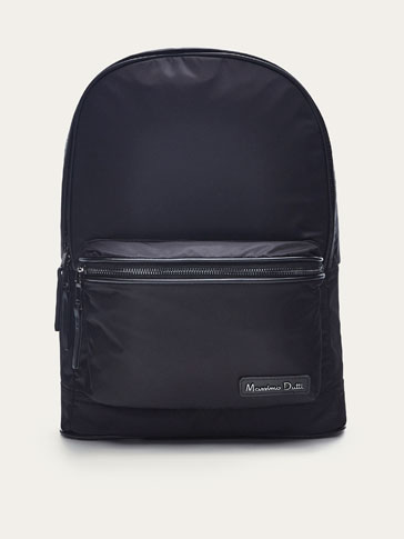 TECHNICAL LEATHER BACKPACK