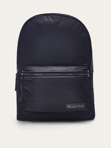 حقيبة ظهر تقنية من الجلد