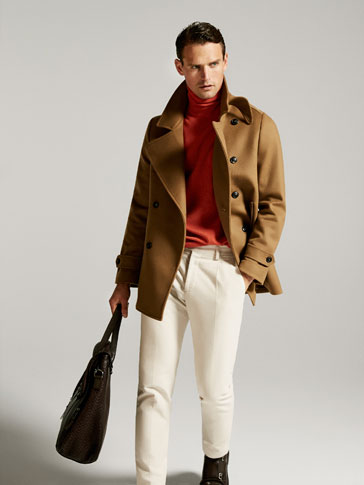 LIMITED EDITION BEIGE WOOL COAT
