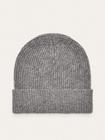 قبعة صوف مخددة
