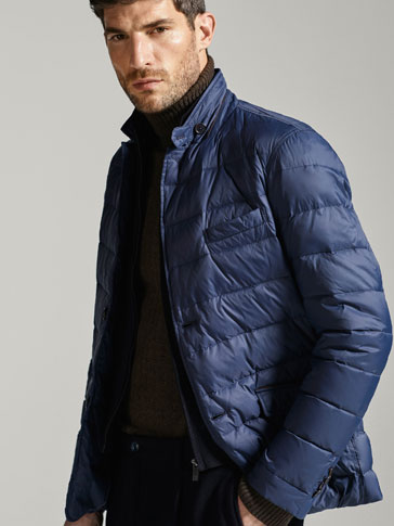 TECHNICAL QUILTED JACKET WITH DETACHABLE DETAIL