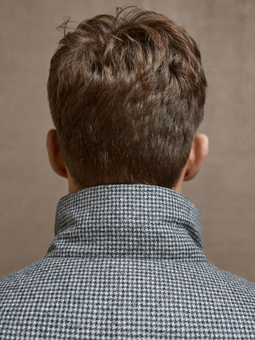 LIMITED EDITION WOOL HOUNDSTOOTH JACKET
