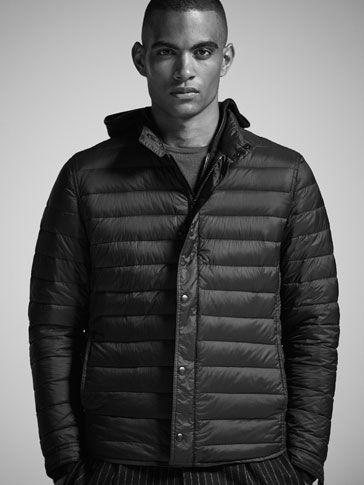 DOWN PUFFER OVERSHIRT