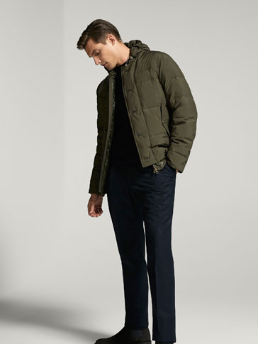 TECHNICAL DOWN PUFFER JACKET