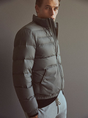 SOFT TECHNICAL DOWN PUFFER JACKET