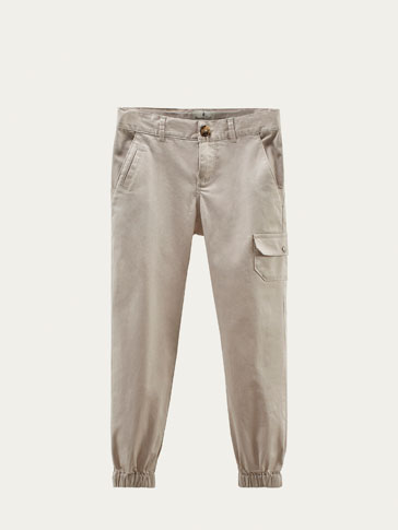 CARGO-STYLE JOGGING TROUSERS