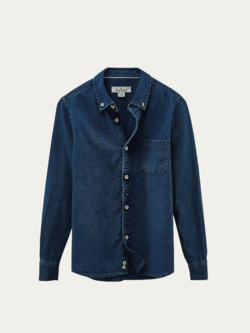 CAMISA DENIM INDIGO