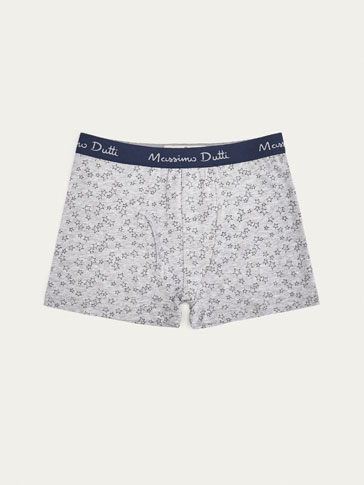BOXER SHORTS WITH STARS DETAIL