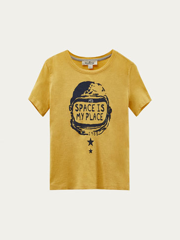 'SPACE IS MY PLACE' T-SHIRT