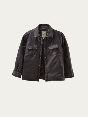 TECHNICAL DOWN OVERSHIRT