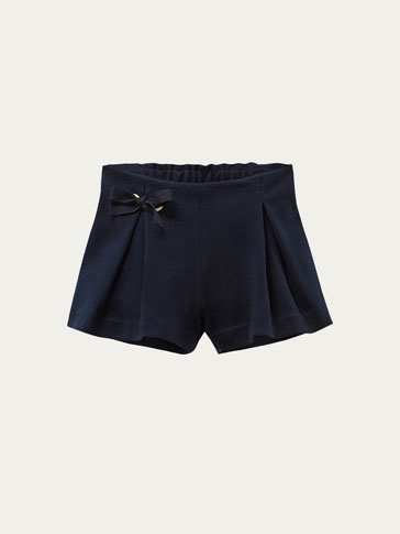 SHORTS WITH TIE DETAIL