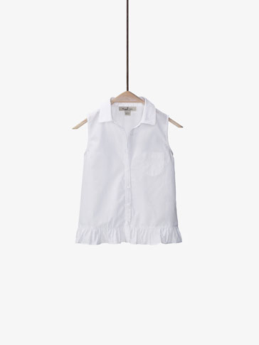 TOP BLANCO CAMISERO