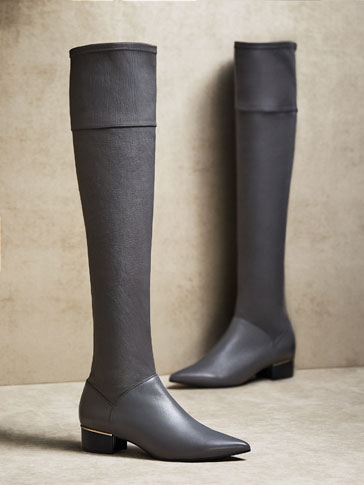 LIMITED EDITION NAPPA LEATHER BOOTS