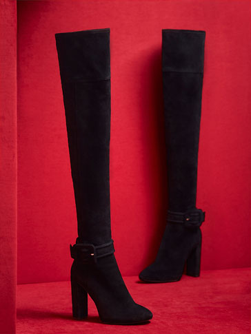 LIMITED EDITION SUEDE BOOTS