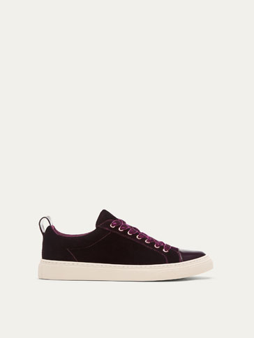 TENNIS VELOURS BORDEAUX