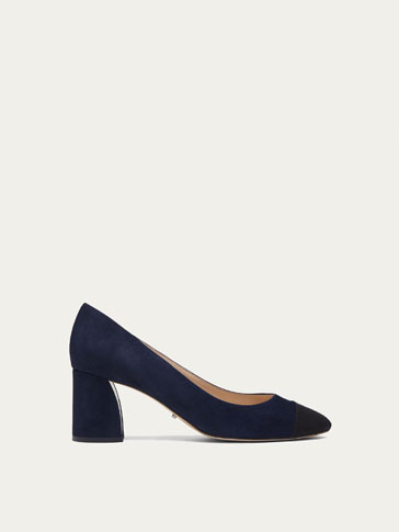 BLUE SUEDE COURT SHOES