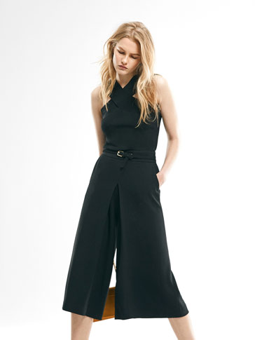 LIMITED EDITION BLACK CULOTTES
