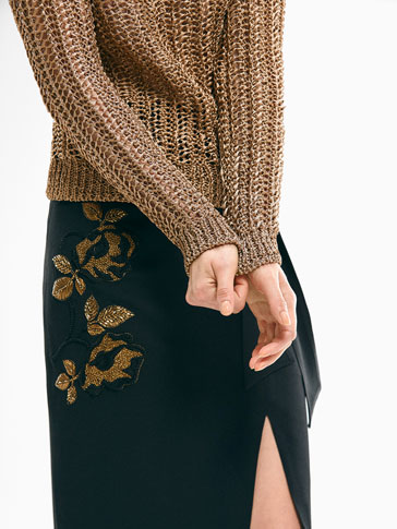 LIMITED EDITION GOLD KNIT SWEATER