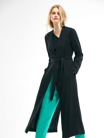 LIMITED EDITION BLACK FLOWING COAT