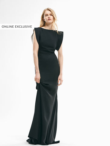 LIMITED EDITION LONG BLACK DRESS