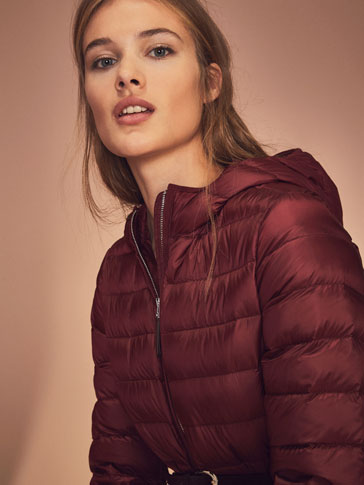 RED FEATHER DOWN JACKET