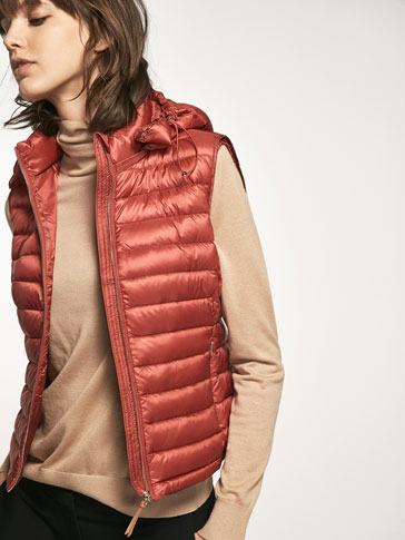 RUSSET PADDED GILET