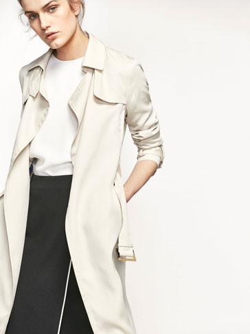 FLOWING TRENCH COAT
