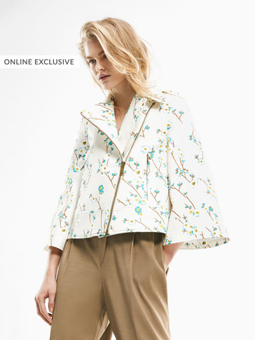 LIMITED EDITION FLORAL PRINT JACKET