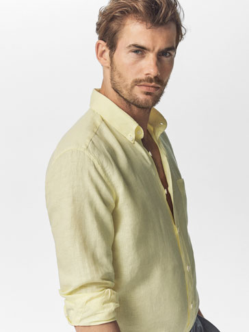 CAMISA LINO LISA CASUAL FIT
