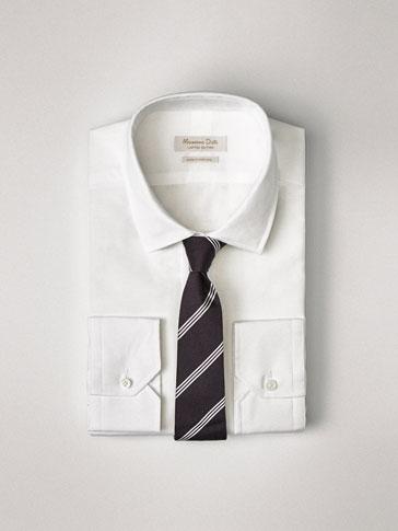 PERSONAL TAILORING  화이트 면/린넨 셔츠