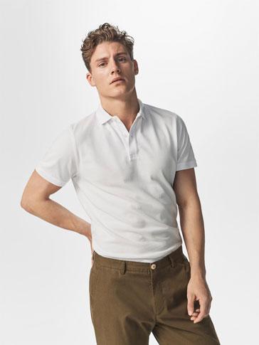 قميص البولو أساسي