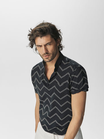 POLO M/C ESTAMPADO ZIC ZAC