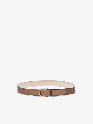 OILED BELT WITH PERFORATIONS