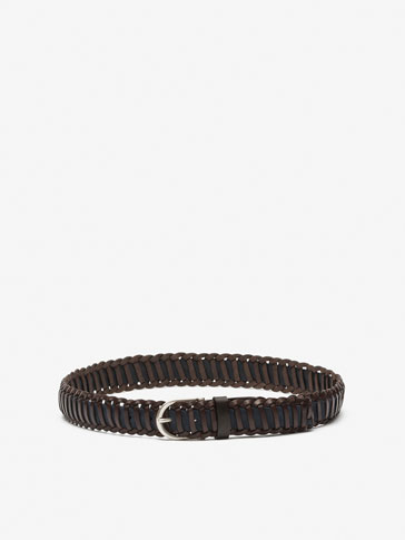 BRAIDED DETAIL BELT